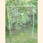 4 foot by 5 foot rectangular trellis with 3 inch mesh