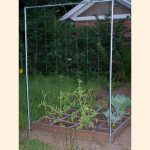 4 foot by 6 foot rectangular trellis with 6 inch mesh