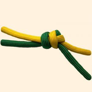 overhand-knot-tied-orangeBG