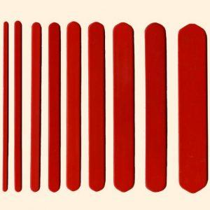 Plastic Mesh Sticks 1/8 inch to 1.5 inch